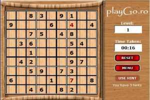 Jocul Sudoku Original online