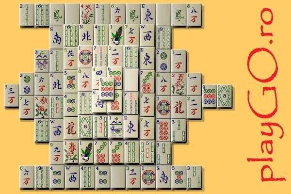 Jocul Mahjong Solitaire online